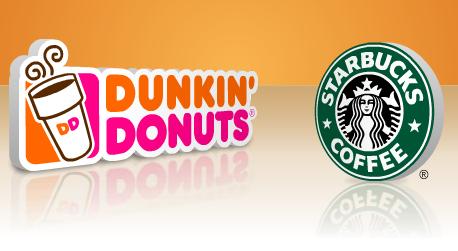 Dunkin beat Starbucks