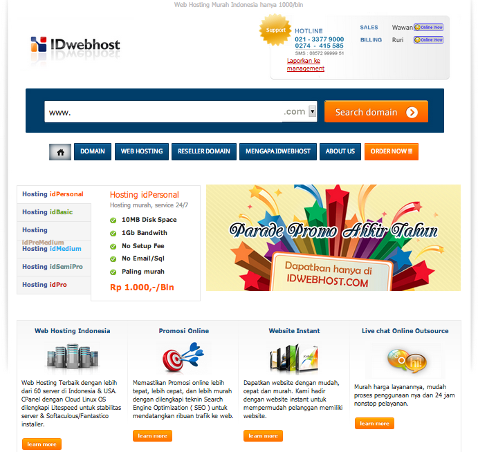 Idwebhost-domain