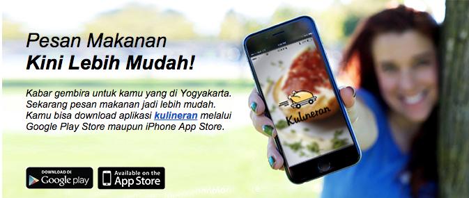 Mobile Apps Kulineran